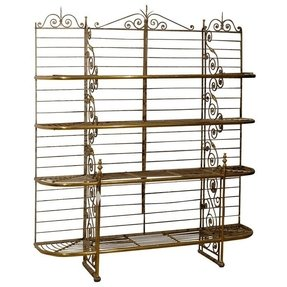Jumbo french bakers rack from a unique collection of antique