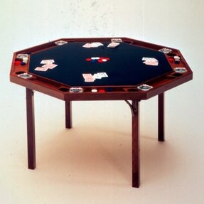 Kestell folding poker table