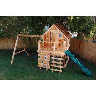Kids Wood Playhouse Ideas On Foter