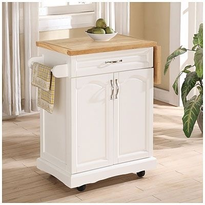 High Quality Kitchen Island Cart With Drop Leaf