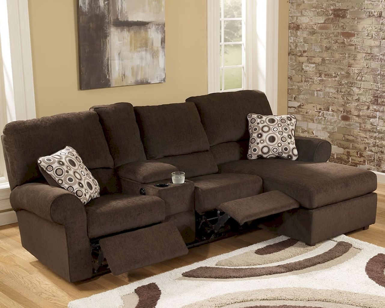 Leather Sectionals For Small Spaces