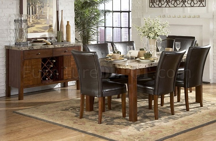 Ordinaire Marble Top Dining Room Sets