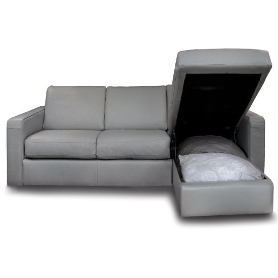 Charmant Sleeper Sofa With Chaise And Storage   Ideas On Foter