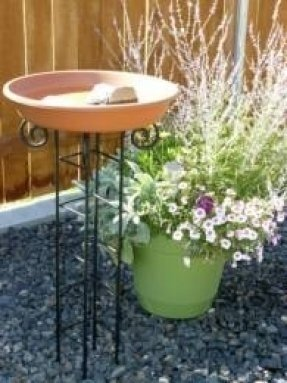 Metal Bird Baths 8