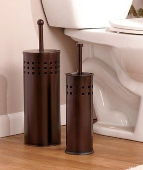 Oil rubbed bronze bathroom solutions toilet brush toilet plunger sets