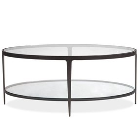 Oval Coffee Table With Storage Foter - Mirrored coffee table with storage