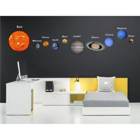 Planet wall decals 10