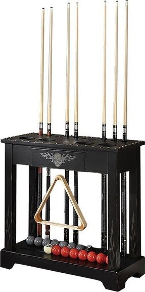 Pool cue floor rack 3