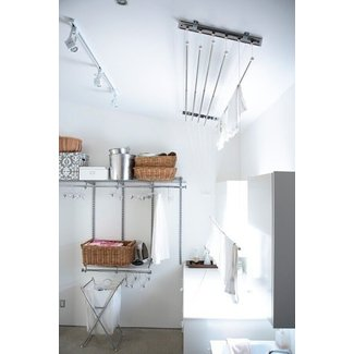 Pull out clothes airer