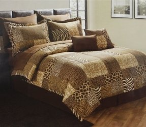 King Size Animal Print Comforter Set Foter
