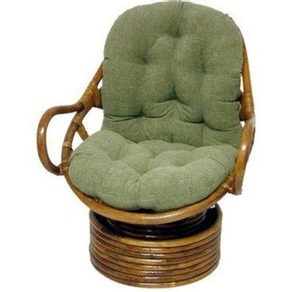 Rattan swivel chair cushion