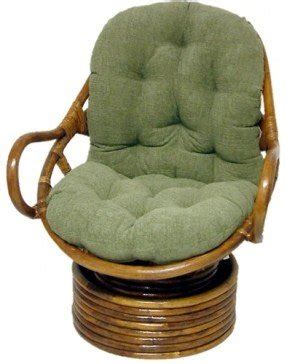 Delicieux Rattan Swivel Chair Cushion