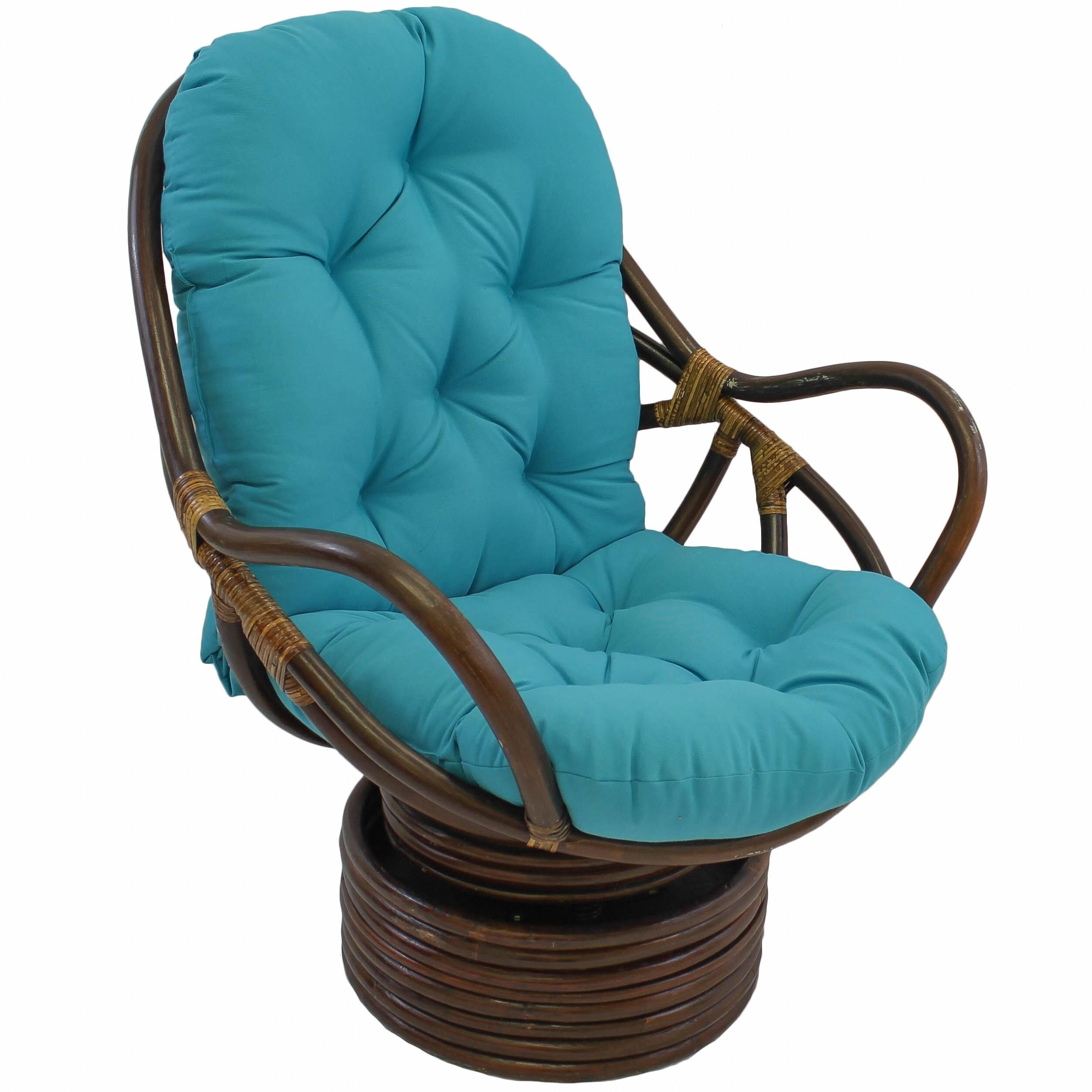 Rattan Swivel Rocker Replacement Cushion
