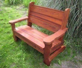 Redwood angels bench 1