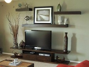 Flat Screen Tv Shelf - Foter