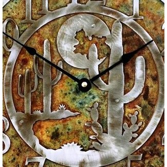 Southwestern wall clocks 4