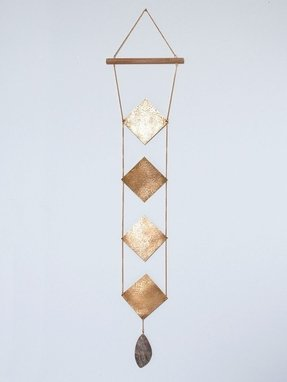 Susan connor ny brass wall hanging 2