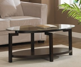 Oval Coffee Table With Storage Ideas On Foter