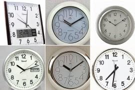 Telesonic wall clocks