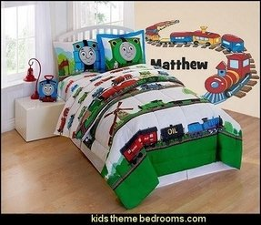 Thomas and friends scenic bedding comforter set