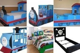 If Your Kid Is A Fan Of Thomas U0026 Friends, He Will Go Crazy When He Sees  This Charming Bed. Itu0027s In Form Of A Train In Beautiful Shades Of A Blue ...