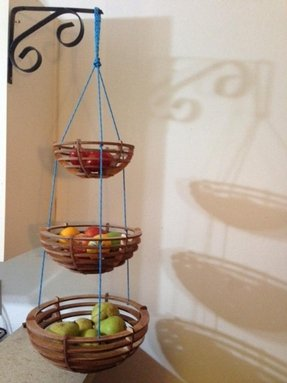 Three Tiered Fruit Basket