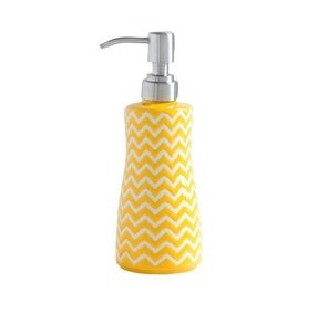 Yellow soap dispenser 1