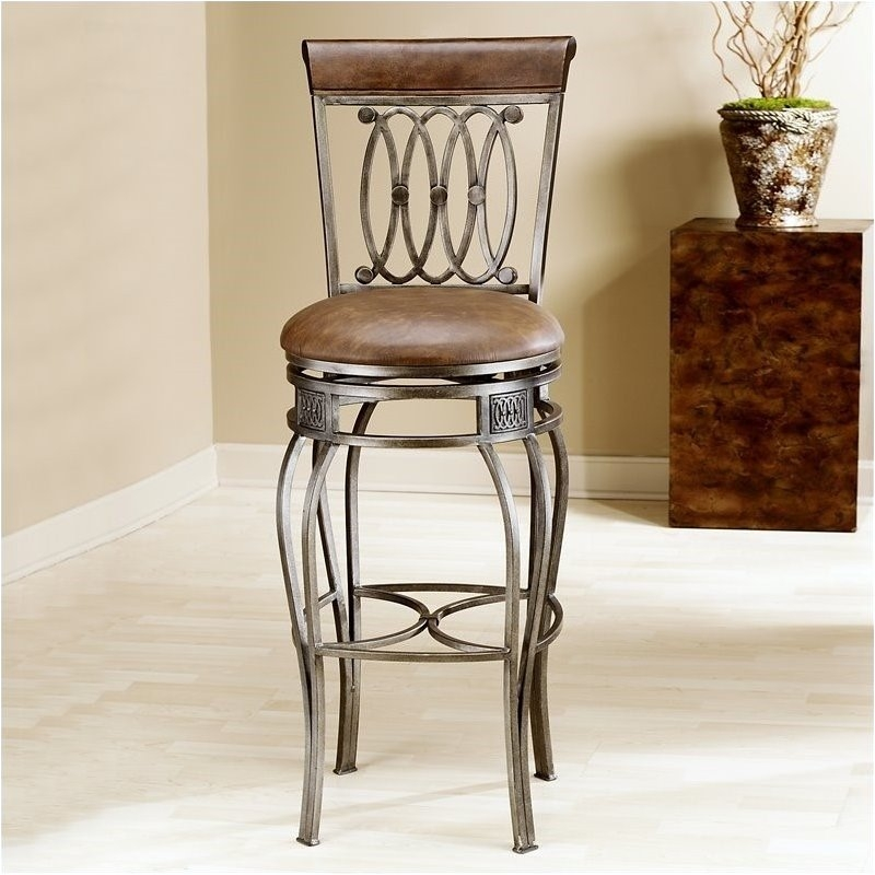 Bar Chairs Gentle European Wrought Iron Bar Stool Solid Wood Bar Table And Chair Combination Bar Stool High Stool Bar Stool Home Front Chair Furniture