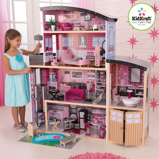 Large Wooden Dollhouse Ideas On Foter