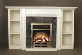 Electric Fireplace With Bookshelves For 2020 Ideas On Foter