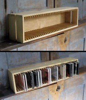 Cd tower storage rack