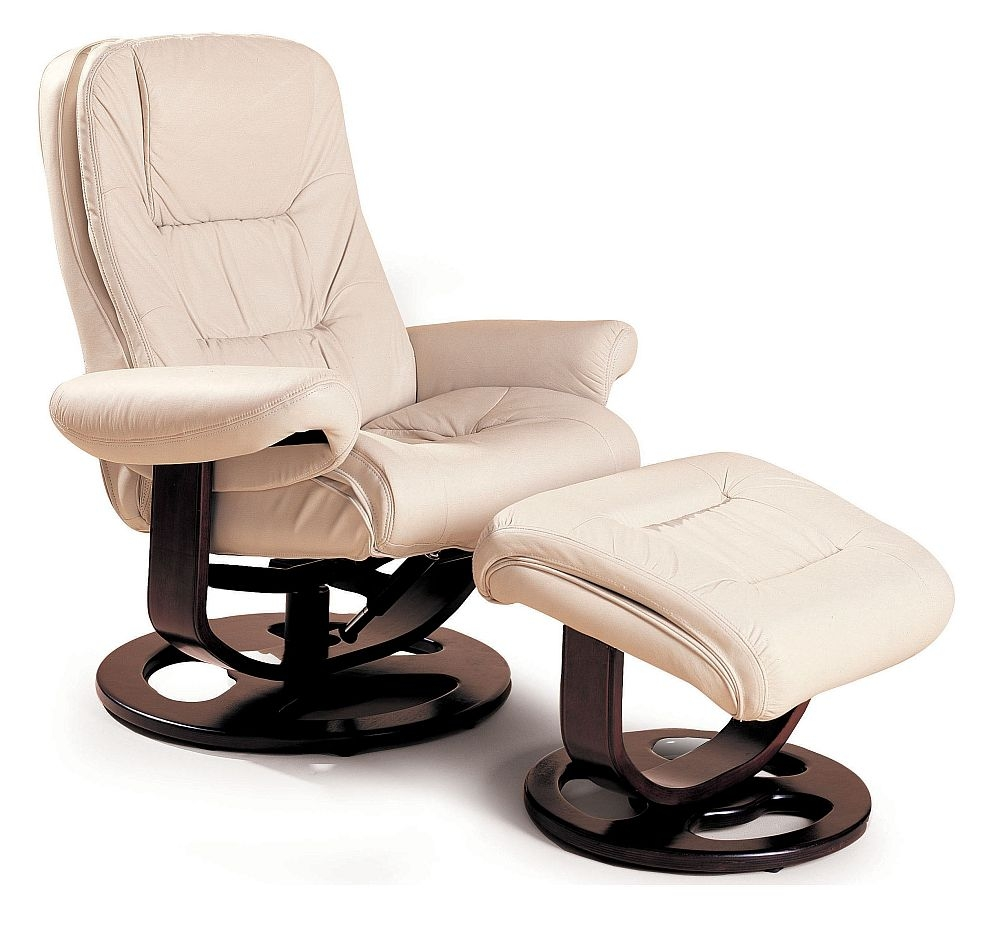 Chair And Ottoman From The Reclining Furniture Collection By Lane