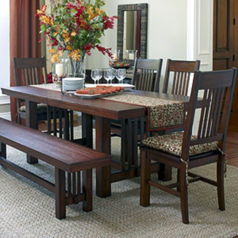 Incroyable Craftsman Style Dining Table 1