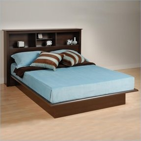 Full Size Bed With Bookcase Headboard Ideas On Foter