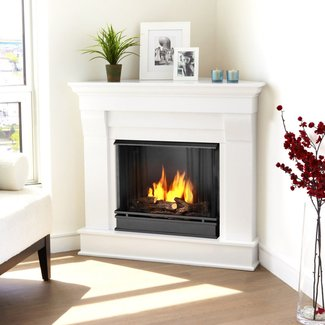 Natural Gas Corner Fireplace Foter
