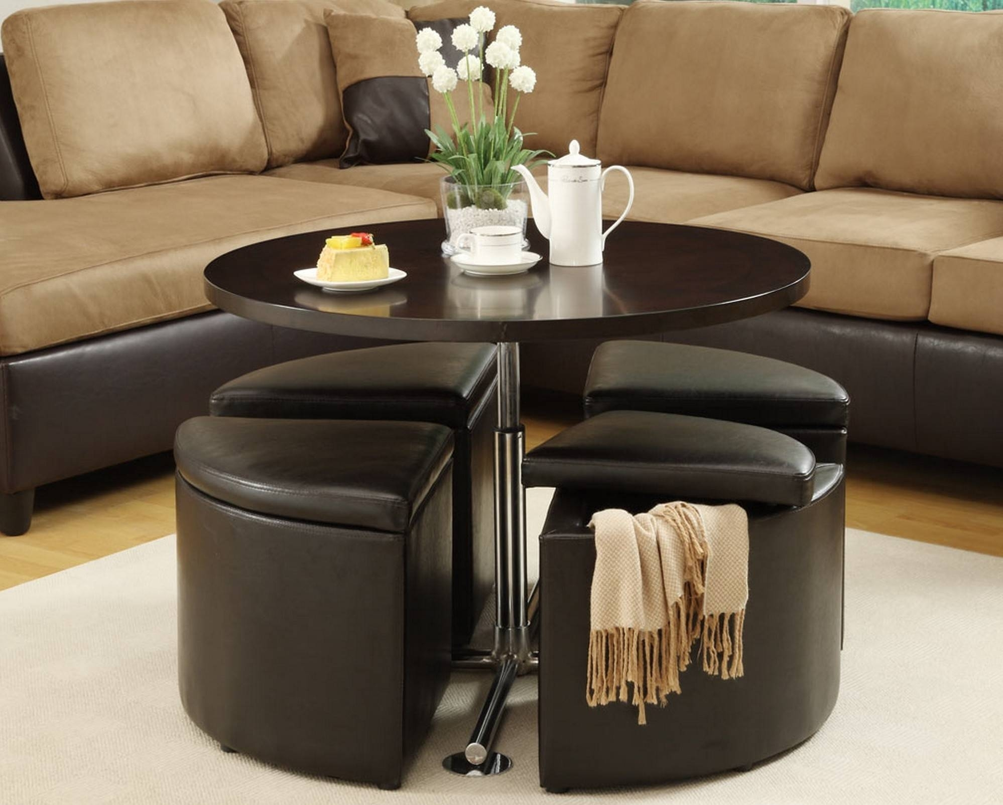 Superbe Footstool Coffee Table Storage