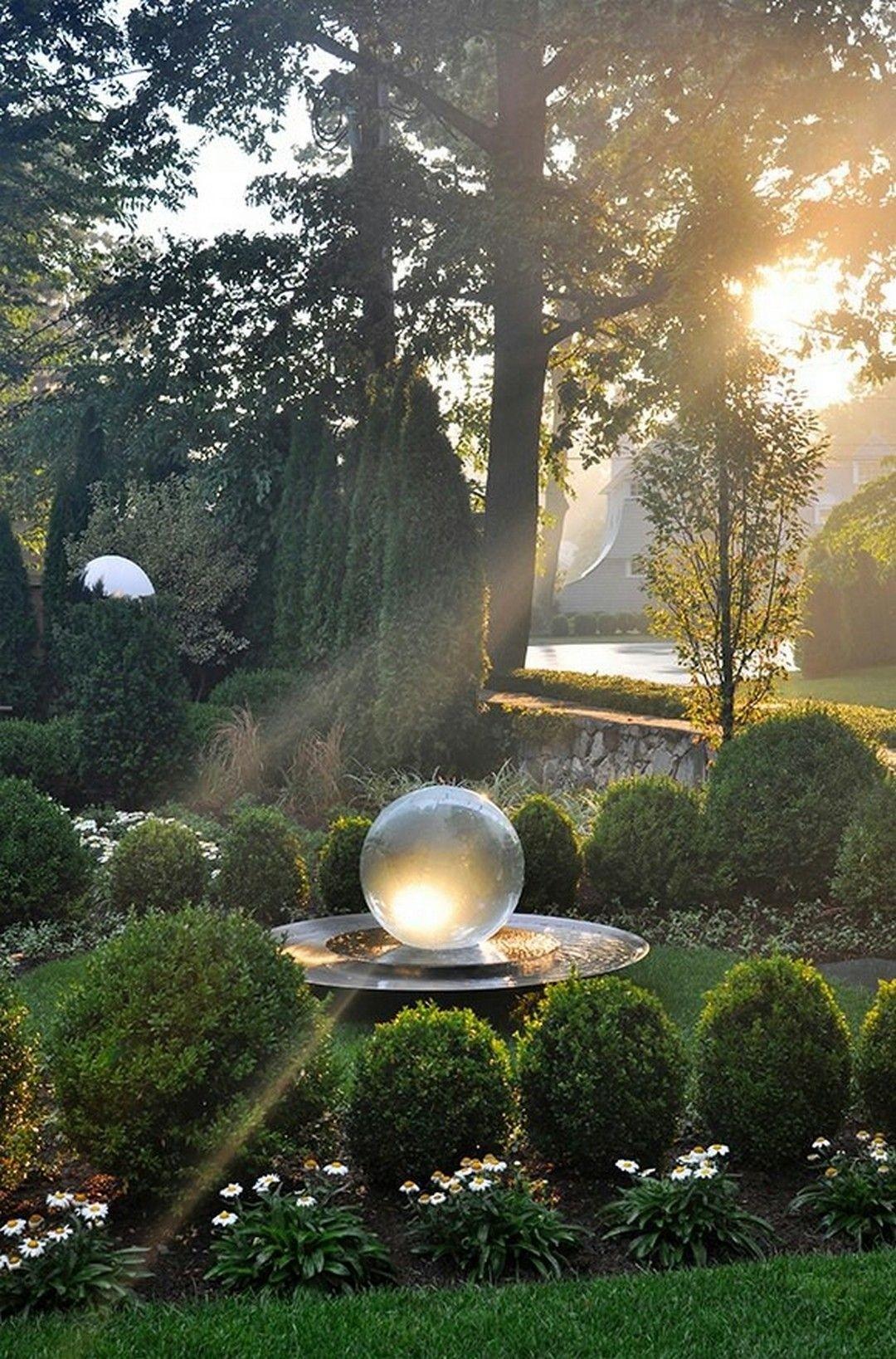Delicieux Glow In The Dark Garden Globes