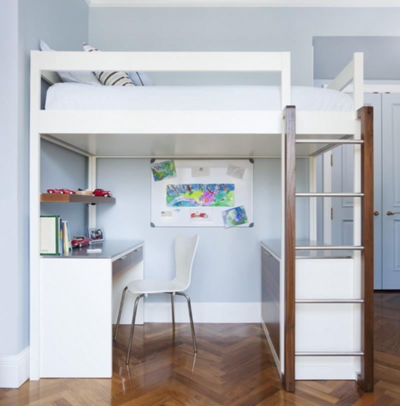 Loft Bed Desk Dresser