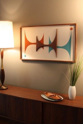 Mid Century Modern Wall Decor 8