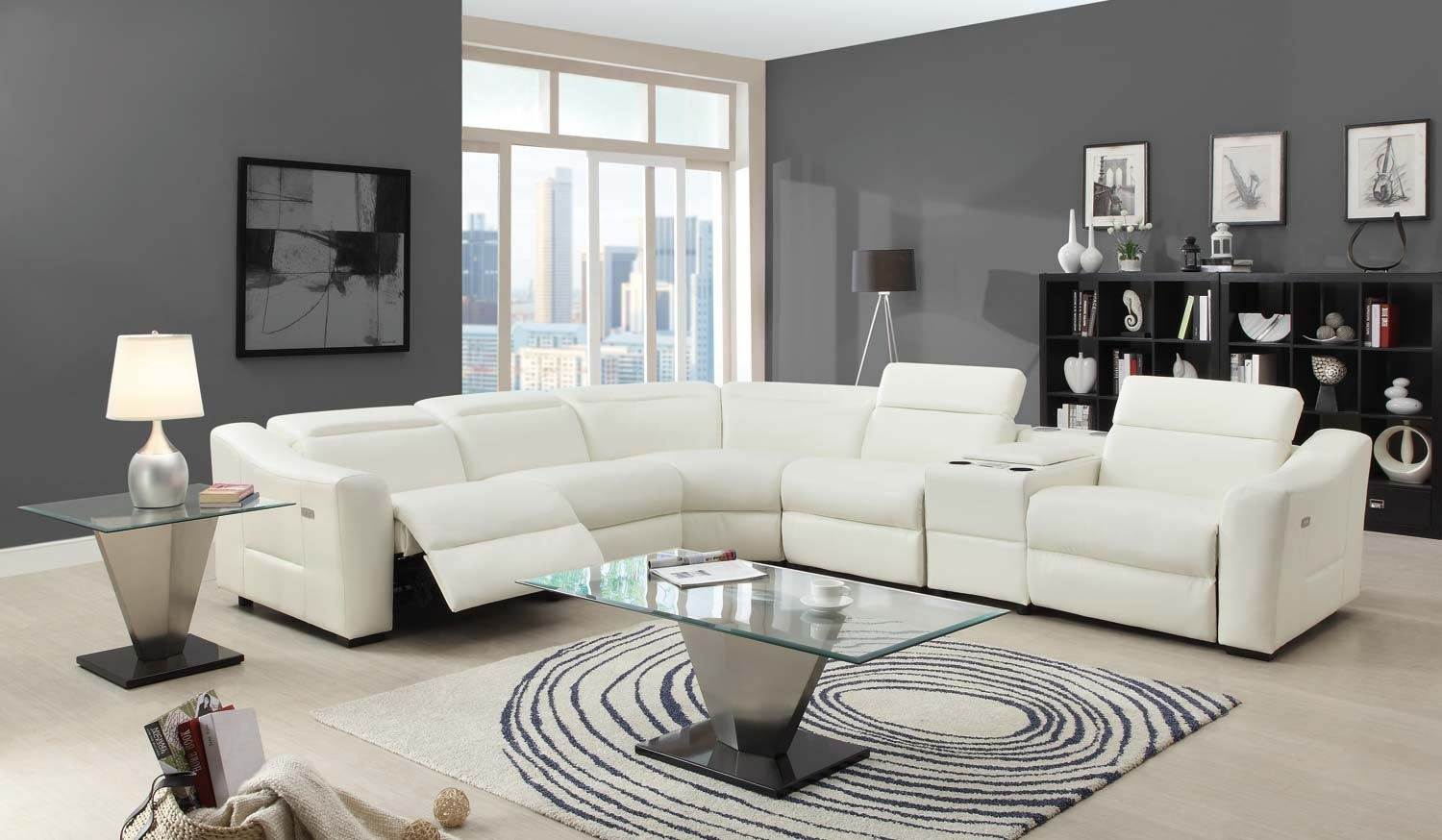 Awesome Modern Reclining Sectional