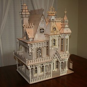 Large Wooden Dollhouse - Ideas on Foter
