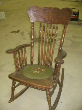 Antique Rocking Chairs Ideas On Foter