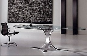 Oval Glass Kitchen Table Glass oval dining table foter oval glass kitchen table workwithnaturefo