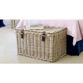 Rattan trunk lavender hill interiors 1