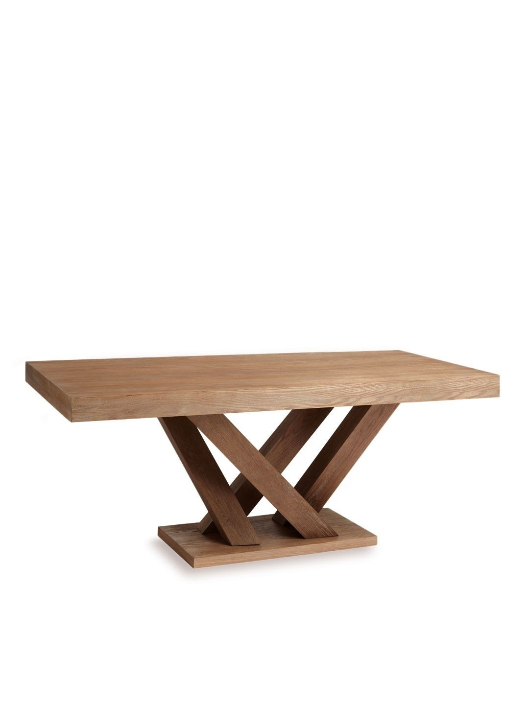 Rectangle Pedestal Table Foter