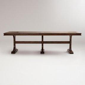 Rectangle Pedestal Table Foter