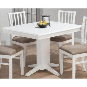 wood round pedestal white cornwall home kitchen dining reclaimed room in cottage table zin