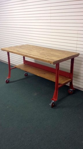 Rolling Butcher Block Cart Foter