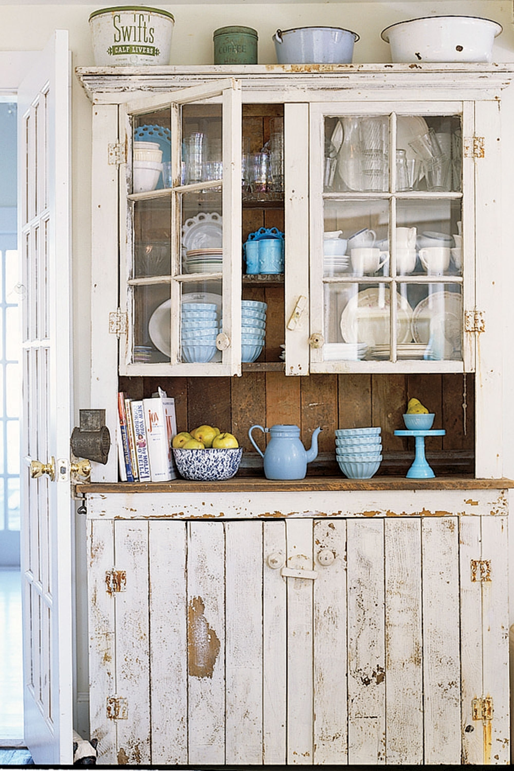 Rustic China Hutch 5