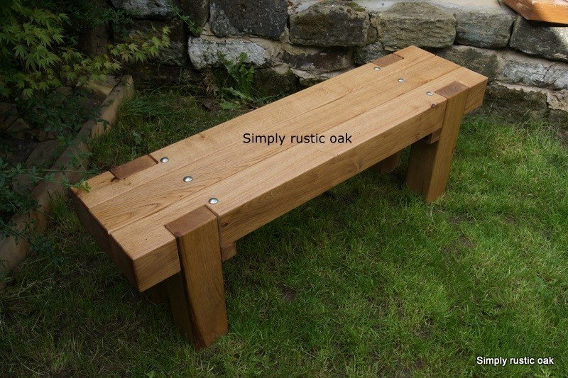 Rustic Outdoor Bench 1